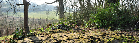 Rock art at Grange, Kirkcudbright